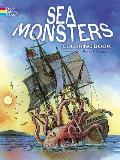 Sea Monsters Coloring Book
