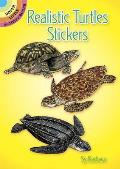 Realistic Turtles Stickers