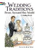 Wedding Traditions from Around the World Coloring Book