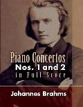 Piano Concertos: Nos. 1 and 2 in Full Score
