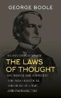 Investigation Of The Laws Of Thought