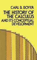 History of the Calculus & Its Conceptual Development