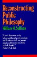 Reconstructing Public Philosophy
