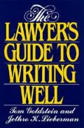Lawyers Guide To Writing Well