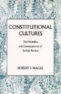 Constitutional Cultures The Mentality