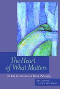 The Heart of What Matters: The Role for Literature in Moral Philosophy