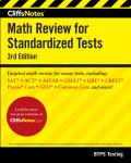 Cliffsnotes Math Review for Standardized Tests 3rd Edition