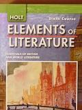 Holt Elements of Literature Pennsylvania: Student Edition Grade 12 2009