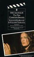 Decalogue The Ten Commandments