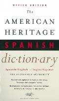 American Heritage Spanish Dictionary 2nd Edition Offic