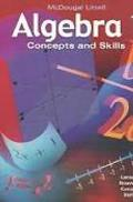 McDougal Littell Concepts & Skills California: Test and Practice Workbook 40 Pack Grade 6