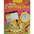 Math Expressions: Student Edition Consumable Level 5 Volevel 2 2006