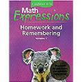 Math Expressions: Hmewk&rembr Consm L1 V1
