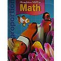 Houghton Mifflin Math: Student Book + Writie-On, Wipe-Off Workmats Grade 6 2007