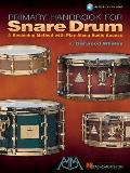 Primary Handbook For Snare Drum A Beginning