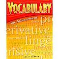Vocabulary for Achievement Introductory Course