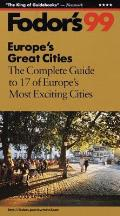 Fodors Europes Great Cities 99