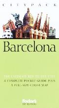 Fodors Citypack Barcelona 1st Edition