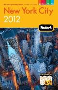 Fodors New York City 2012