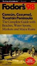 Fodors Cancun Cozumel Yucatan 98
