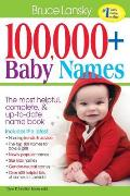 100000 Baby Names The Most Complete Book