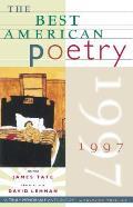Best American Poetry 1997