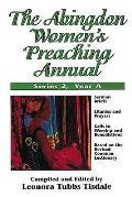 Abingdon Womens Preaching Annual Series 2 Year A