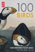 British Library 100 Birds from Around the World: 100 Postcards in a Box