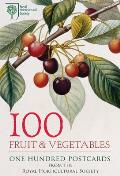100 Fruit & Vegetables from the Rhs: 100 Postcards in a Box