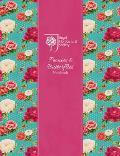 Rhs Peonies and Butterflies Notebook