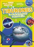 Tiburones: Libro de Actividades Con Etiquetas