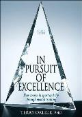 In Pursuit Of Excellence 4th Edition