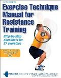 Exercise Technique Manual for Resistance Training With 2 DVDs