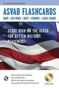 ASVAB Armed Services Vocational Aptitude Battery Flashcard Book