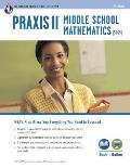 Praxis II Middle School Mathematics (5169) Book + Online