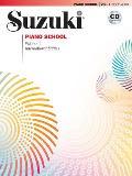 Suzuki Piano School Volume 1 Book & CD