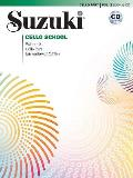 Suzuki Cello School, Vol 2: Cello Part, Book & CD