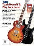 Teach Yourself Series||||Alfred's Teach Yourself Rock Guitar