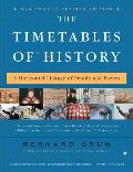 Timetables of History A Horizontal Linkage of People & Events