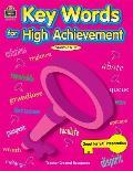 Keywords For High Achievement