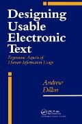 Designing Usable Electronic Text