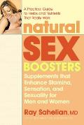 Natural Sex Boosters Supplements That Enhance Stamina Sensation & Sexuality for Men & Women