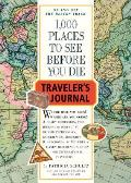 1000 Places to See Before You Die Travelers Journal