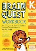 Brain Quest Kindergarten Workbook With Stickers