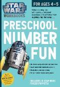 Star Wars Workbook Preschool Number Fun