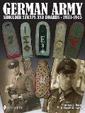 German Army Shoulder Boards and Straps 1933-1945