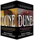 Dune Boxed Mass Market Paperback Set #1: The Butlerian Jihad, the Machine Crusade, the Battle of Corrin