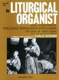The Liturgical Organist, Vol 1