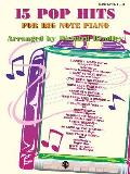 15 Pop Hits for Big Note: Big Note Piano