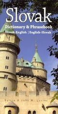 Slovak-English/English-Slovak Dictionary & Phrasebook
